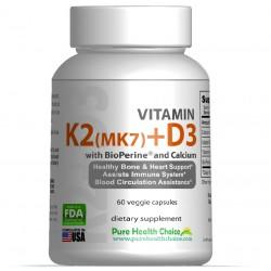Vitamina K2 (MK7) + D3 z...
